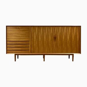 Mid-Century Teak Model 66 Sideboard by Arne Vodder for Sibast, 1960s