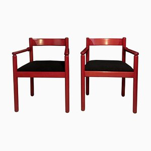 Dining Chairs by Vico Magistretti for Cassina, 1960s, Set of 2