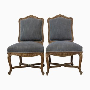Mid-Century Regency Style Chairs, 1950s, Set of 2