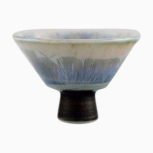 Swedish Vase in Glazed Ceramic by Isak Isaksson, 1992