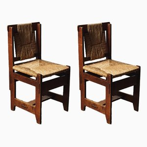 Modernist Chairs by Ir. Siebers for L.O.V. Oosterbeek, 1930s, Set of 2
