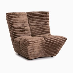 Brown Velvet Cloud 7 Armchair by Bretz Brothers for Bretz