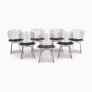 Metal Bertoia Side Chairs from Knoll International, Set of 7