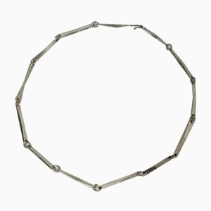 Silver Necklace by Claës Giertta, 1966