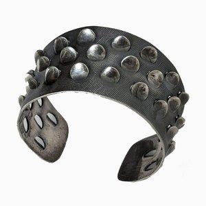 Silbernes Armband von Grete Prytz Kittelsen für J. Tostrup, 1960er