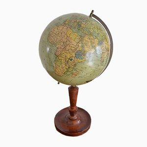 Antique German Globe by Dr. R. Neuse for Columbus Verlag, 1910s