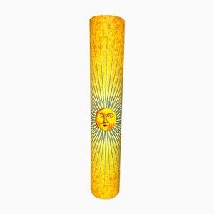 Lámpara de pie italiana en forma de sol de Atelier Fornasetti para Antonangeli Illuminazioni, años 90