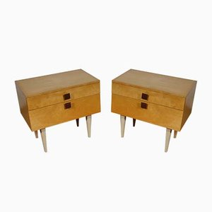 Mid-Century Chest of Drawers, 1970s, Set of 2