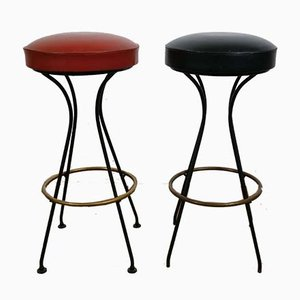 Vintage Barstools, 1950s, Set of 2