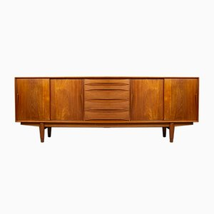 Danish Teak Sideboard Attributed to Arne Vodder for Dyrlund, 1960s