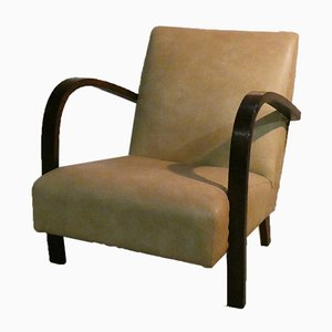 Italian Art Deco Lounge Chairs, 1930s, Set of 2