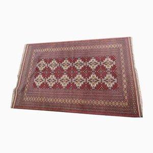 Vintage Oriental Hand-Knotted Woolen Rug, 1960s