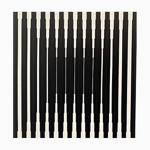 Op-Art Silkscreen by Victor Vasarely, 1967