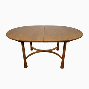 Mid-Century English Elm Dining Table from Ercol, 1970s