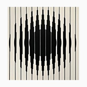 Serigrafía Op-Art de Victor Vasarely, 1967