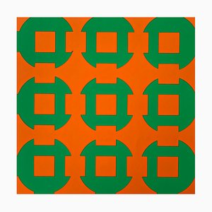 Color Silkscreen by Victor Vasarely, 1967