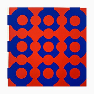 Silkscreen by Victor Vasarely, 1967