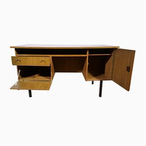 Mid-Century Teak Office Desk, 1970s