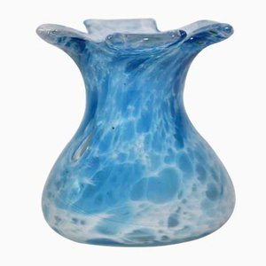 Mid-Century Glass Vase from Murano, 1970s
