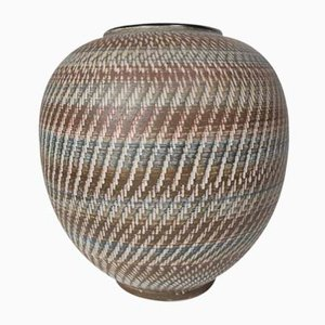 Mid-Century Patterned Model 1088/7 Floor Vase from Dümler & Breiden