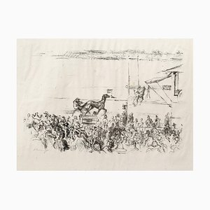 Impressionist Horses No. 1 Lithograph by Max Slevogt, 1911