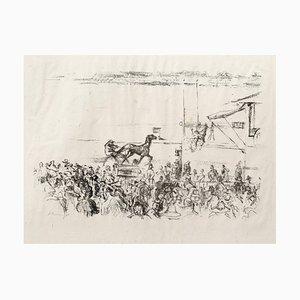 Lithographie Impressionist Horses No. 1 par Max Slevogt, 1911