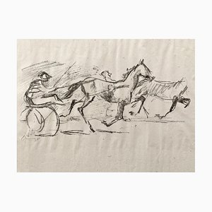 Impressionist Horses No. 5 Lithograph by Max Slevogt, 1911