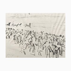 Lithographie Impressionist Horses No. 13 par Max Slevogt, 1911