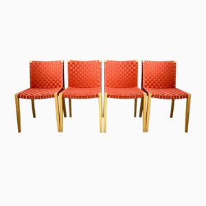 Vintage 757 Dining Chairs by Peter Maly for Thonet, Set of 12
