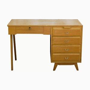 Schreibtisch aus Eschenholz, 1950er