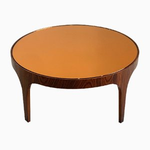 Rosewood Coffee Table by Max Ingrand for Fontana Arte, 1950s