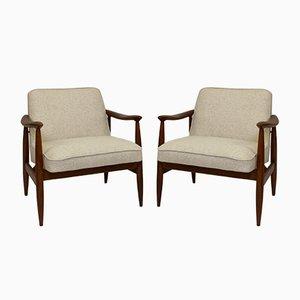 Lounge Chairs by kedziorek for Gościcińskie Fabryki Mebli, 1960s, Set of 2