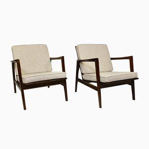Lounge Chairs by Stefan Swarzędzkie for Gościcińskie Fabryki Mebli, 1960s, Set of 2