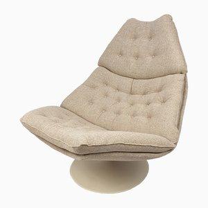 Vintage F588 Sessel von Geoffrey Harcourt für Artifort, 1960er