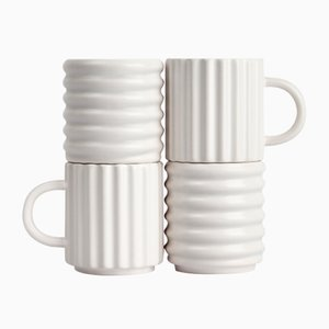 Ripple Mugs from Form & Seek, Set of 2