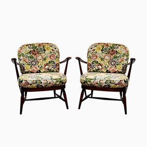 Lounge Chairs by Lucian Ercolani, United Kingdom, 1950s, Set of 2
