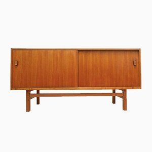 Mid-Century Swedish Teak Sideboard by Nils Jonsson for Troeds