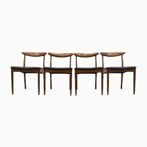 Mid-Century Teak Dining Chairs from Greaves & Thomas, 1960s, Set of 4
