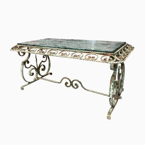 Wrought Iron Coffee Table, 1950s