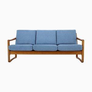 Danish Teak Organic 3-Seat Sofa, 1960s