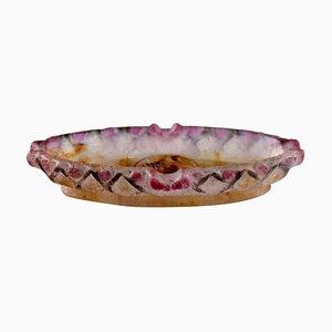 Art Glass Bowl by Gabriel Argy-Rousseau, France, 1920s