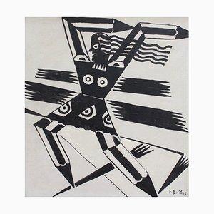 The Power of Words Ölgemälde von F. DuParc, 1950er