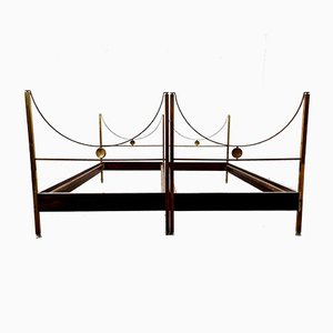 D90 Beds by Carlo de Carli for Sormani, 1960s, Set of 2