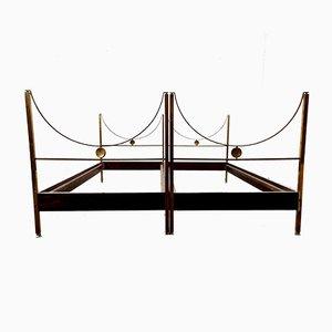 D90 Betten von Carlo de Carli für Sormani, 1960er, 2er Set