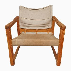 Mid-Century Danish Safari Sling Chair