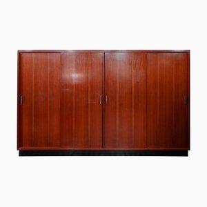 Großer Kleiderschrank mit 4 Türen von Alfred Hendrickx für Belform, Belgium, 1962