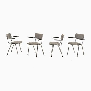Bauhaus Armchairs from Gispen, Set of 6