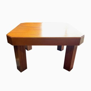 Art Deco Mahogany Dining Table by Henri Rappin, 1940s