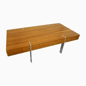 Vintage Swedish Modernist Coffee Table, 1970s
