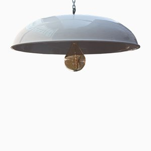 Large Industrial Ceiling Lamp, 1950s